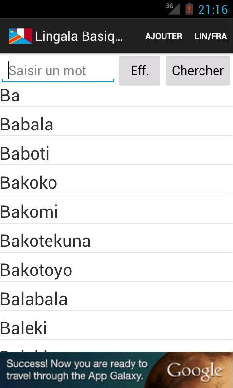 Lingala Basique For Android Apk Download