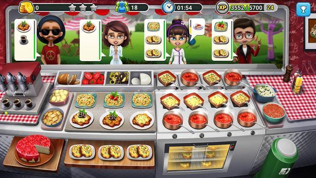 👩🍳طاهي شاحنة بيع الطعام 👨🍳 لعبة الطهي🥧🍩🍰 تصوير الشاشة 1