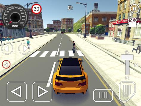 Driving School Simulator 2020 تصوير الشاشة 9