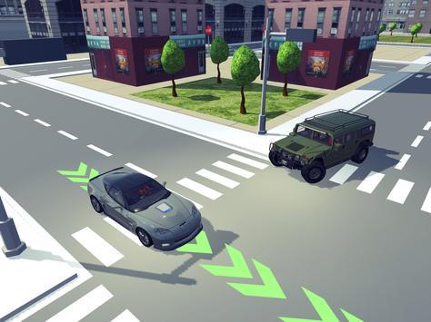 Driving School Simulator 2020 تصوير الشاشة 10
