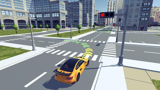 Driving School Simulator 2020 تصوير الشاشة 1