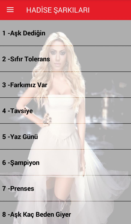 Hadise Sarkilari Internetsiz 40 Sarki For Android Apk Download