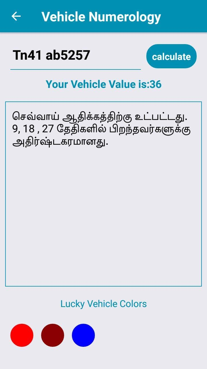 Numerology GYD Tamil for Android - APK Download