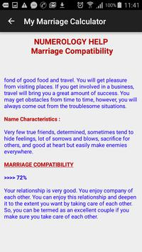 My Marriage Calculator screenshot 5