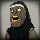 ikon Nun Nenek Scary Horror Neighbour House Jahat Luput
