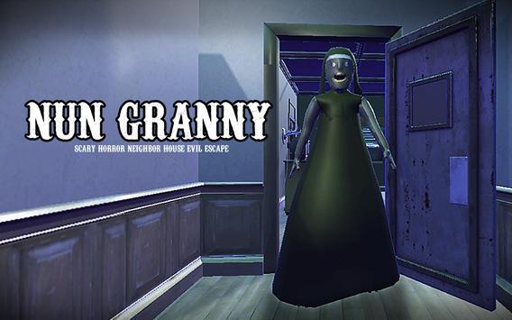 Nun Nenek Scary Horror Neighbour House Jahat Luput poster