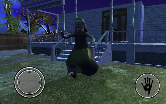 Nun Nenek Scary Horror Neighbour House Jahat Luput screenshot 1