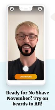 Unshave - Beards in AR poster