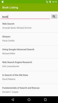 Search Books screenshot 1