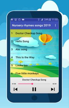 nursery rhymes songs screenshot 2