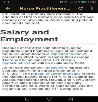To Become a Nurse screenshot 3