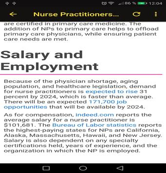 To Become a Nurse screenshot 16