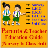 Parents and teacher education Nursery to class 3rd icon