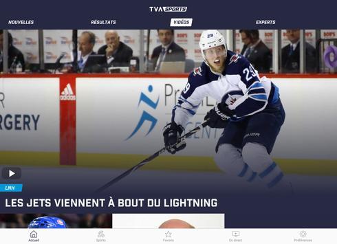 TVA Sports screenshot 9