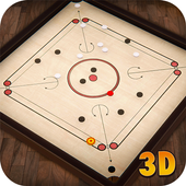 Carrom Multiplayer - 3D Carrom Board Games Offline icon