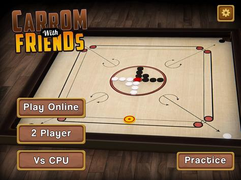 Carrom Multiplayer - 3D Carrom Board Game स्क्रीनशॉट 4