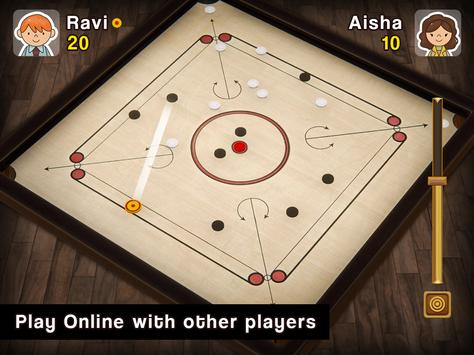 Carrom Multiplayer - 3D Carrom Board Game स्क्रीनशॉट 10