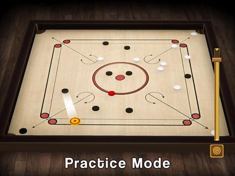Carrom Multiplayer - 3D Carrom Board Game स्क्रीनशॉट 3