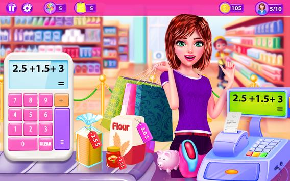 Supermarket Girl Cashier Game - Grocery Shopping screenshot 1