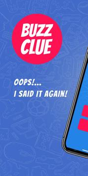 Buzz Clue - A Multiplayer Taboo Style Party Game 海报