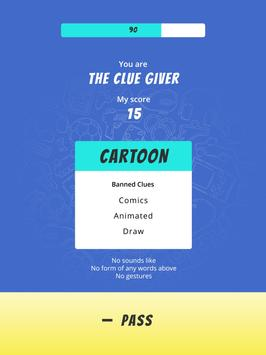 Buzz Clue - A Multiplayer Taboo Style Party Game 截图 15