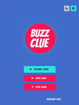 Buzz Clue - A Multiplayer Taboo Style Party Game 截图 8