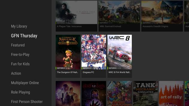 NVIDIA Games captura de pantalla 2