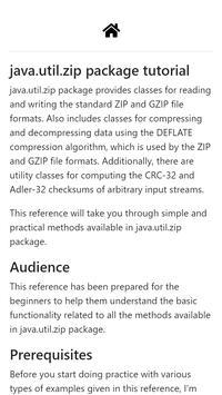 java util zip package tutorial for Android - APK Download