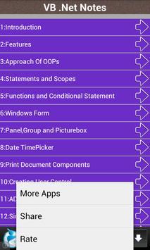 VB .Net Notes screenshot 2