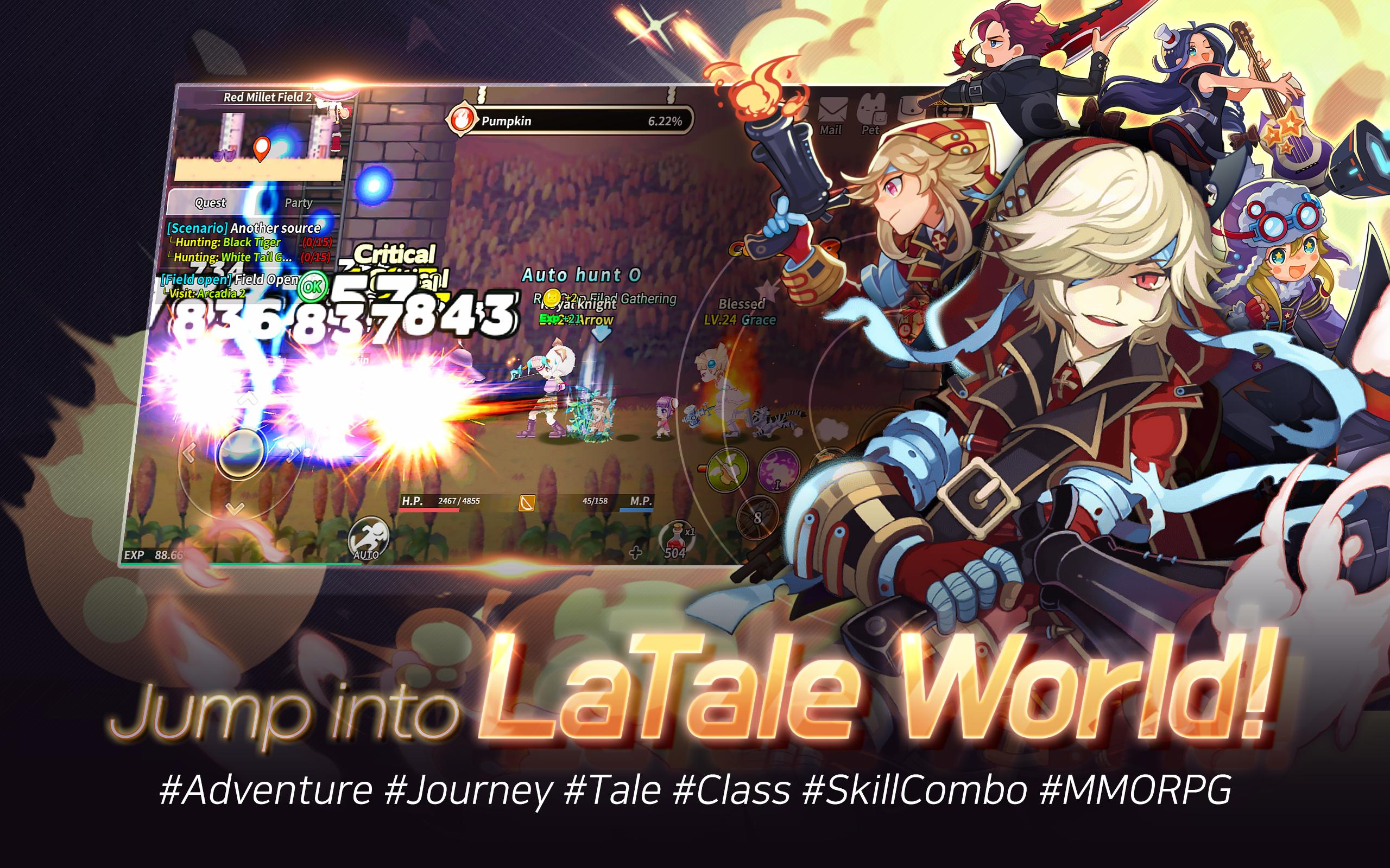 LaTale W for Android - APK Download