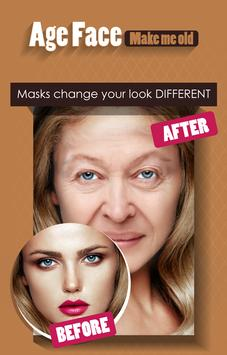Age Face - Make me OLD poster