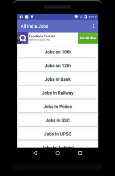 All India Jobs poster