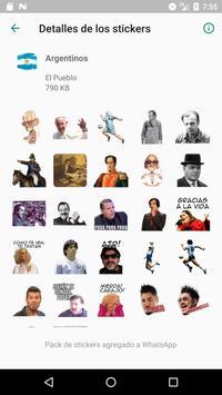 Stickers de Perón, Evita, CFK, Fidel y el Che 截图 7