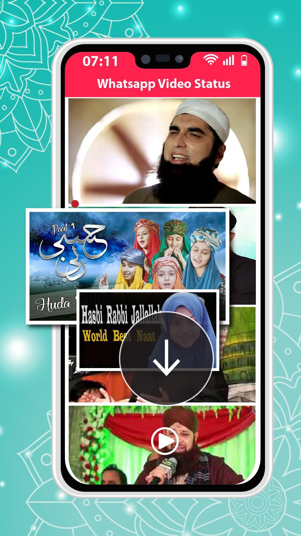Islamic Naat Whatsapp Video Status For Android Apk Download