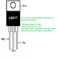 LM317 Calculator : Calculate Volt, Current, Power