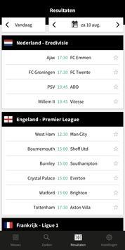 Voetbalzone screenshot 3