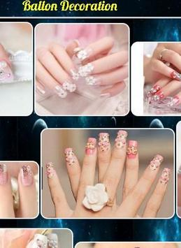nail decoration design poster