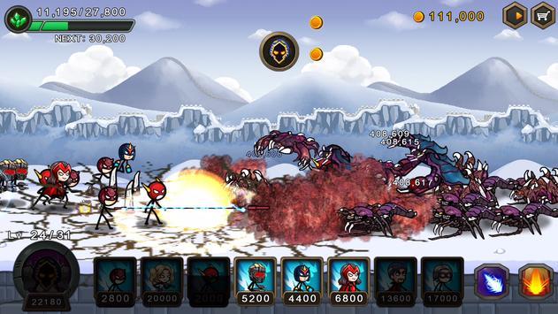 Perang pahlawan HERO WARS Defense screenshot 3