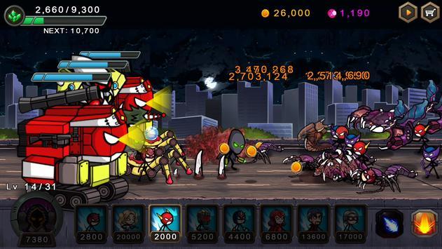 Perang pahlawan HERO WARS Defense screenshot 7