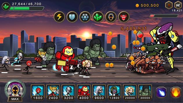 HERO WARS: Super Stickman 海报