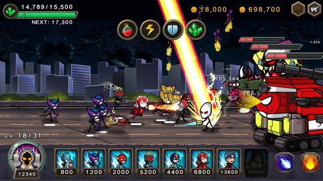 Perang pahlawan HERO WARS Defense screenshot 5