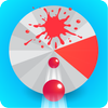 Fire 3D Balls : Hit Slices icône