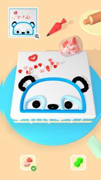 Cake Art 3D Affiche