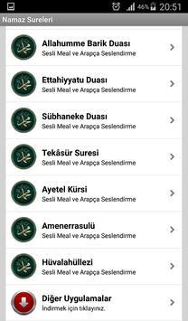 Namaz Sureleri screenshot 3