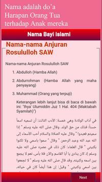 2000++ Nama Anak Bayi Islami screenshot 2