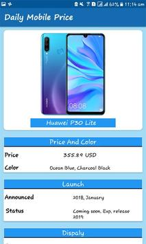 Daily Mobile Phones: Compare Mobile Prices & Specs screenshot 1