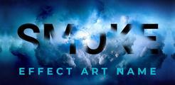 Smoke Name Art  -  Smoke Effect