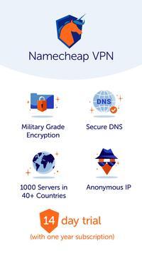 Namecheap VPN syot layar 4