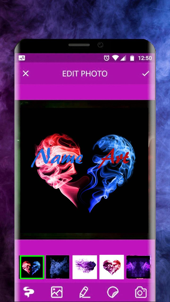 Smok Effect- Name And Texte Editor for Android - APK Download