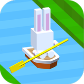 Free Casual Rafting!! Toy Boat Rush icon
